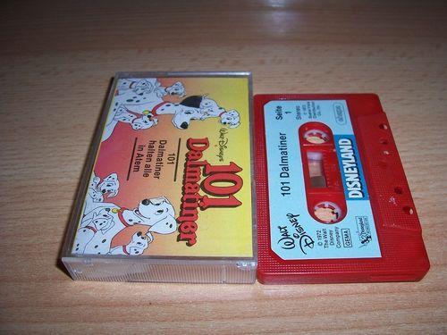 Walt Disney Hörspiel MC zum Film 101 Dalmatiner + 101 Dalmatiner halten alle in Atem ehapa gebr.
