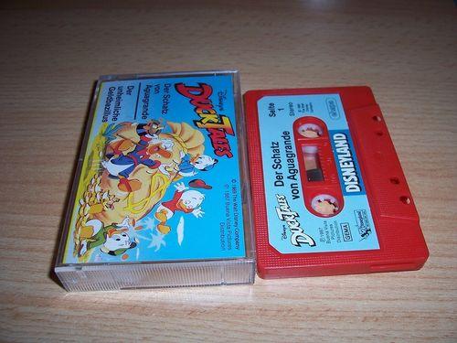 Walt Disney Hörspiel MC zum Film DuckTales Der Schatz von Aguagrande + Der unheimliche ehapa gebr.