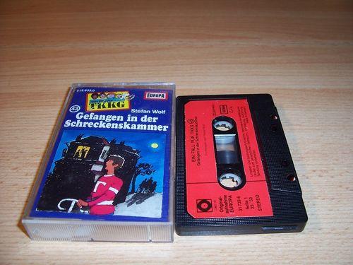 TKKG Hörspiel MC 043 43 Gefangen in der Schreckenskammer Europa SONOCORD 31739-6 ohne So-Cover gebr.