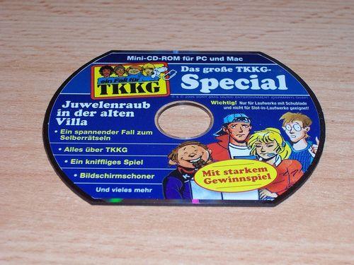 PC CD-Rom Spiel - TKKG Juwelenraub in der alten Villa Special Mini-CD-Rom aus 150 von 2006 USK0 gebr
