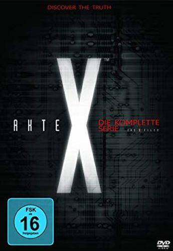 DVD Akte X Staffel 1 2 3 4 5 6 7 8 9 Die komplette Serie TV-Serie 201 Episoden NEU & OVP