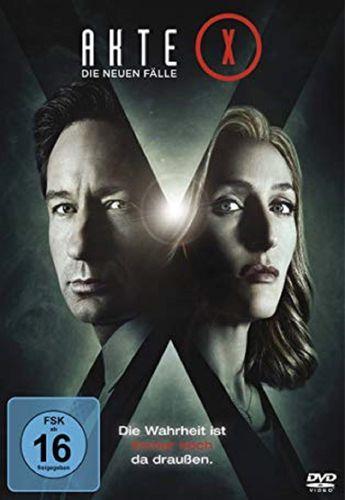 DVD Akte X Staffel 10 Die neuen Fälle TV-Serie 6 Episoden NEU & OVP