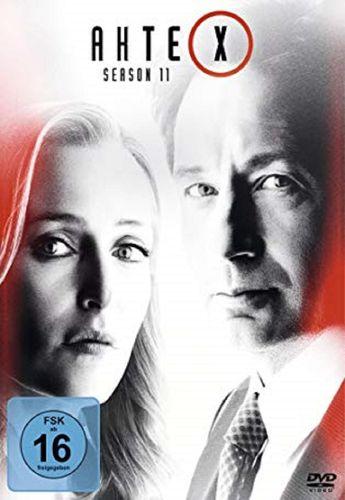 DVD Akte X Staffel 11 Die neuen Fälle TV-Serie 10 Episoden NEU & OVP