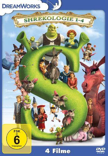 DVD Shreck Shrekologie 1 2 3 4 Die komplette Box NEU & OVP