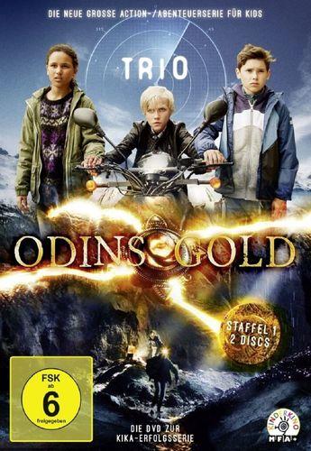 DVD Trio Staffel 1 - Odins Gold TV-Serie mit 10 Episoden NEU & OVP