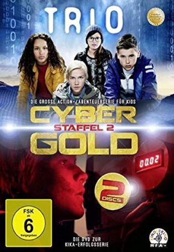 DVD Trio Staffel 2 - Cyber Gold TV-Serie mit 10 Episoden NEU & OVP