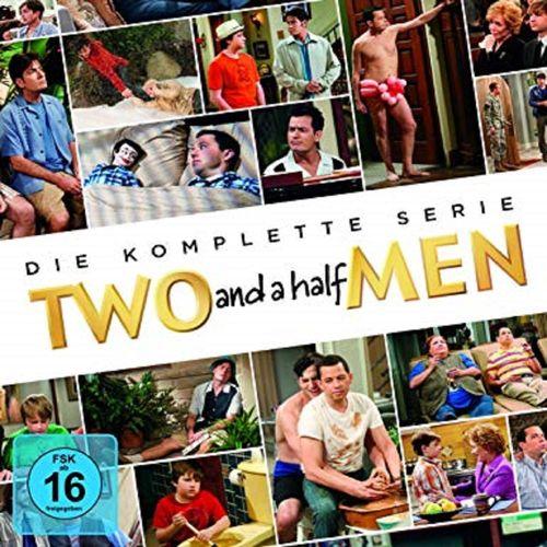 DVD Two and a Half Men Komplettbox Staffel 1-12 Die komplette Serie TV-Serie 261 Episoden NEU & OVP