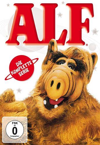 DVD ALF Staffel 1 2 3 4 Komplettbox Die komplette Serie TV-Serie mit 102 Episoden NEU & OVP