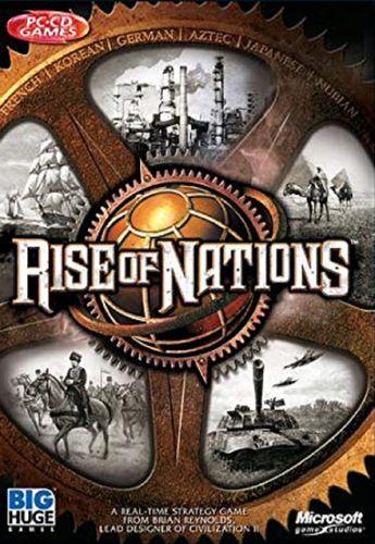 PC CD-Rom Spiel - Rise of Nations von 2003 Windows 98 + 2000 USK 12 gebr.