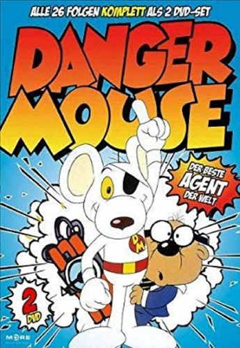 DVD Danger Mouse 1 - Der beste Agent der Welt - TV-Serie mit 26 Episoden NEU & OVP