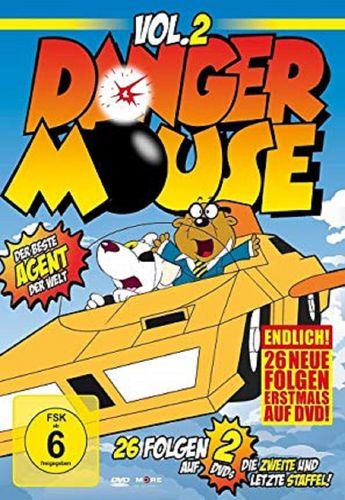 DVD Danger Mouse 2 - Der beste Agent der Welt - TV-Serie mit 26 Episoden NEU & OVP