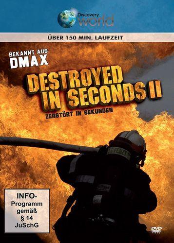 DVD Destroyed in Seconds II 2 - zerstört in Sekunden aus DMAX Discovery World FSK 0  NEU & OVP