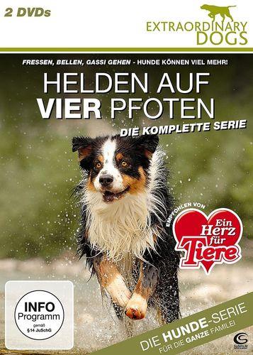 DVD  Helden auf vier Pfoten - Extraordinary Dogs - Die komplette Serie 13 TV-Serie FSK 0  NEU & OVP