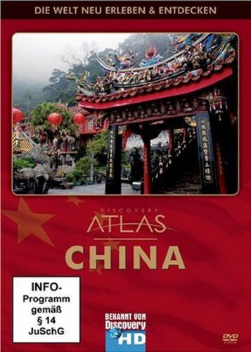 DVD China - Discovery Atlas - Die Welt neu Erleben & Entdecken FSK 0  NEU & OVP
