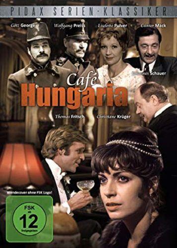 DVD Café Hungaria - die komplette Serie alle 13 Teile mit Götz George von 2010 FSK 12  NEU & OVP