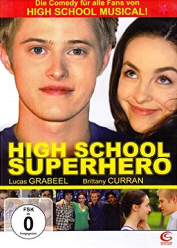 DVD High School Superhero  mit Lucas Grabeel + Brittany Curran von 2009 FSK 0  NEU & OVP