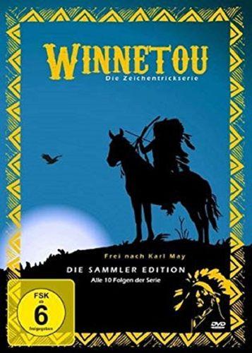 DVD Winnetou - Die Zeichentrickserie komplett alle 10 Folgen  2010 FSK 6 Zeichentrickfilm NEU & OVP