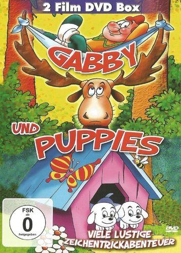 DVD Gabby und Puppies 15 Folgen  2 Film DVD Box 2013 FSK 0 Zeichentrickfilm NEU & OVP
