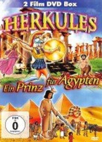 DVD Herkules + Ein Prinz für Ägypten  2 Film DVD Box 2013 FSK 0 Zeichentrickfilm NEU & OVP