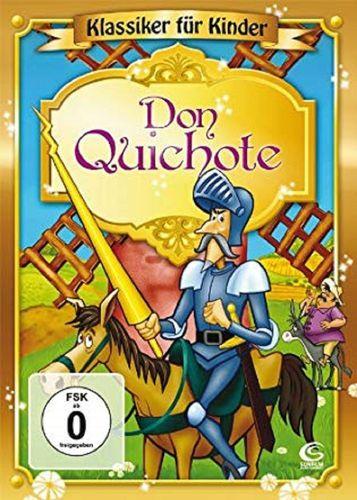 DVD Don Quichote - Klassiker für Kinder  2009 FSK 0 Zeichentrickfilm NEU & OVP