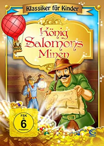 DVD König Salomons Minen - Klassiker für Kinder  2009 FSK 0 Zeichentrickfilm NEU & OVP