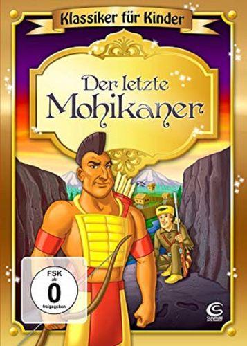 DVD Der letzte Mohikaner - Klassiker für Kinder  2009 FSK 0 Zeichentrickfilm NEU & OVP