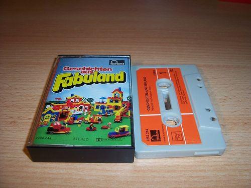 LEGO ® Fabuland Hörspiel MC Geschichten aus Fabuland Folge 1 Fontana 1979 gebr.