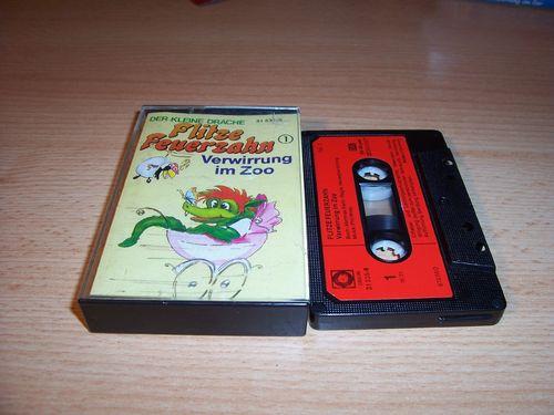 Flitze Feuerzahn Hörspiel MC Kassette 001 1 Verwirrung im Zoo SONOCORD 31535-8 Vol 1 gebr.