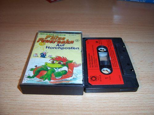 Flitze Feuerzahn Hörspiel MC Kassette 002 2 Auf Horchposten SONOCORD 31535-8 Vol 2 gebr.