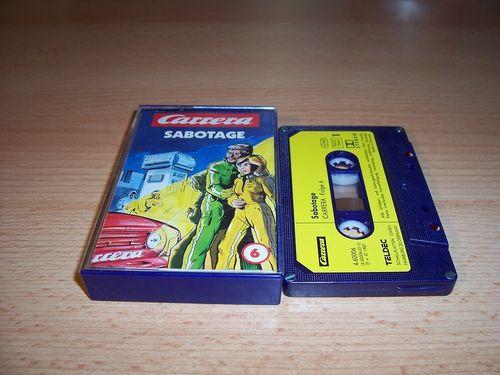 Carrera Hörspiel MC 006 6 Sabotage  Teldec gebr.