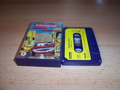 Carrera Hörspiel MC 009 9 Asphalt-Cowboys  Teldec gebr.