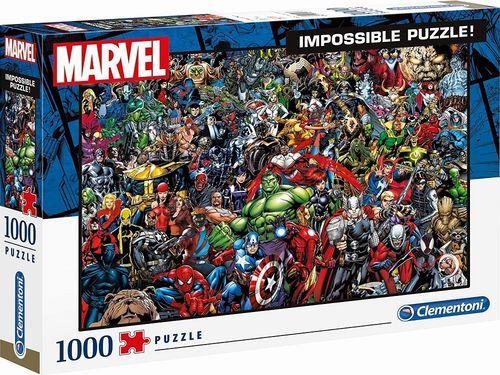 Puzzle 1000 Teile Impossible Puzzle - Marvel Universe Superhelden von Clementoni Nr. 39411 NEU & OVP
