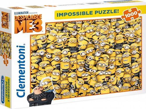 Puzzle 1000 Teile Impossible Puzzle - Minions Despicable ME3 von Clementoni Nr. 39408 NEU & OVP