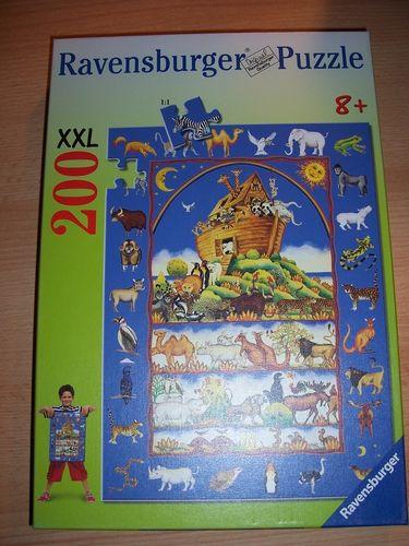 Puzzle 200 Teile - XXL - Noahs Arche Ravebsburger Puzzle Nr. 126200 100% komplett gebr.