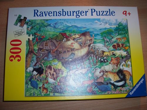 Puzzle 300 Teile - Die Arche Noah Ravebsburger Puzzle Nr. 130481 100% komplett gebr.