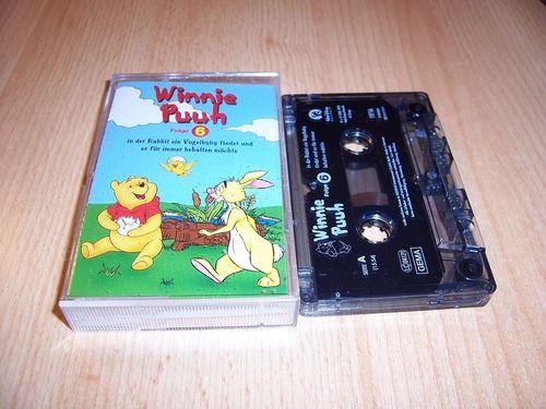 Walt Disney Hörspiel MC zum Film Winnie Puuh Serie Folge 6 2003 Walt Disney Records Rückenbild gebr.