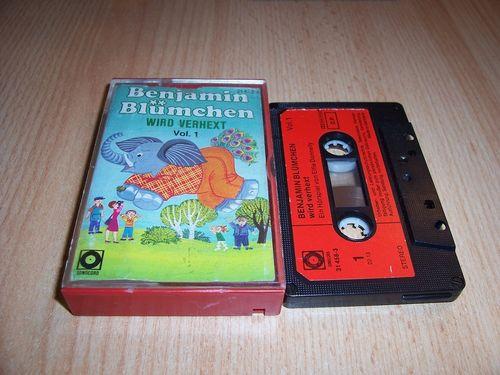 Benjamin Blümchen Hörspiel MC 036 36 wird verhext Kassette Auflage Sonocord 31458-3 gebr.