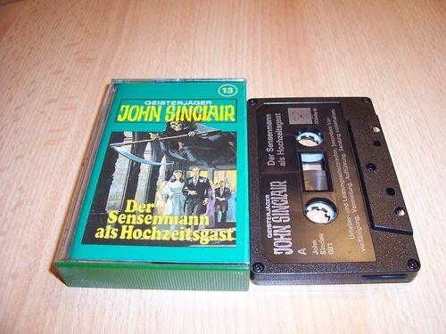 John Sinclair Hörspiel MC  013 13 Der Sensenmann als Hochzeitsgast Tonstudio Braun 3. schwarz Film