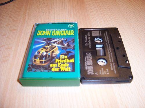 John Sinclair Hörspiel MC 018 18 Ein Friedhof am Ende der Welt 2 /3 Tonstudio Braun 3. schwarz Film
