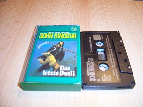 John Sinclair Hörspiel MC 019 19 Das letzte Duell Teil 3 von 3 3/3 Tonstudio Braun 3. schwarz Film