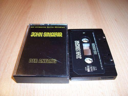 John Sinclair Hörspiel MC 000 0 SE 01 Der Anfang von SPV gebr.
