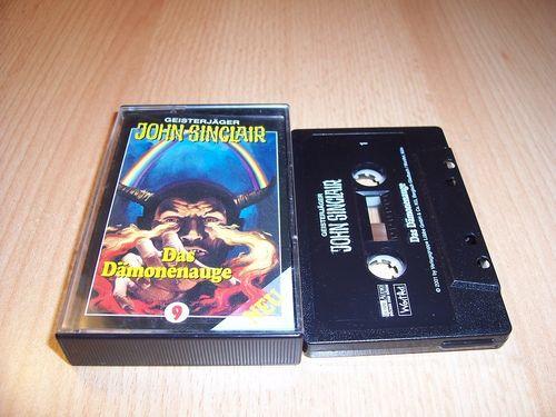 John Sinclair Hörspiel MC 009 9 Das Dämonenauge Teil 2 von 2 2/2 SPV Edition 2000 schwarz gebr.