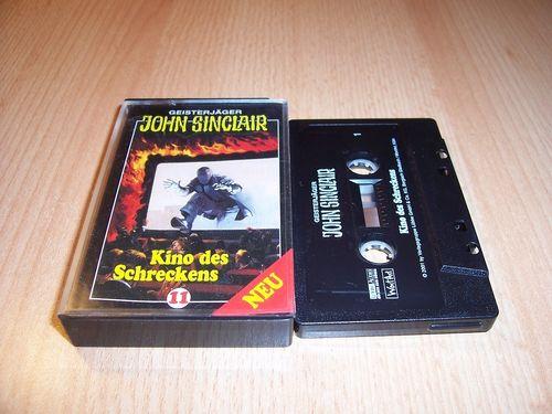 John Sinclair Hörspiel MC 011 11 Kino des Schreckens von SPV Edition 2000 schwarz gebr.