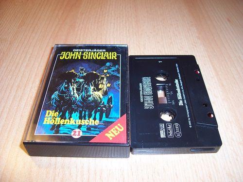 John Sinclair Hörspiel MC 021 21 Die Höllenkutsche Teil 1 von 2  von SPV Edition 2000 schwarz gebr.