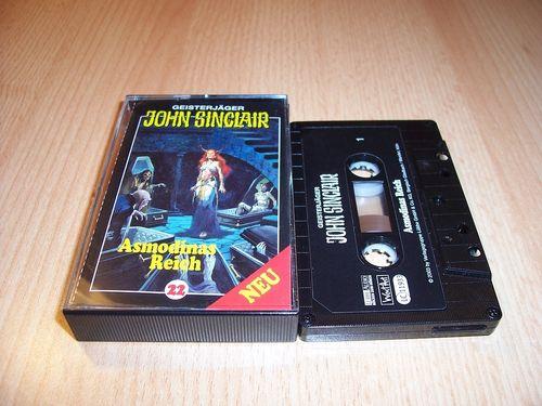 John Sinclair Hörspiel MC 022 22 Asmodinas Reich Teil 2 von 2  von SPV Edition 2000 schwarz gebr.