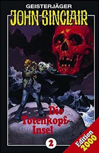 John Sinclair Hörspiel MC 002 2 Die Totenkopfinsel Totenkopf-Insel  SPV Edition 2000 NEU & OVP
