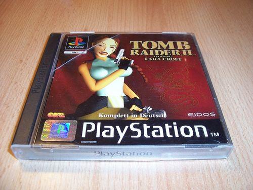 PlayStation 1 PS1 Spiel - Tomb Raider 2 II PSone PSX USK 16 - komplett + Anleitung gebr.