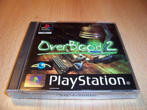 PlayStation 1 PS1 Spiel - OverBlood 2 PSone PSX USK 16 - komplett + Anleitung + 2 Discs gebr.