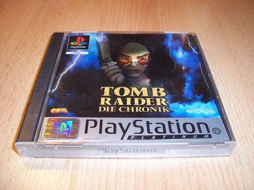 PlayStation 1 PS1 Spiel - Tomb Raider 5 V - Platinum   PSone PSX USK 12 - komplett + Anleitung gebr.