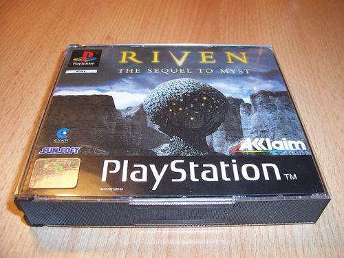 PlayStation 1 PS1 Spiel - Riven The Sequel to Myst PSone PSX USK 12 komplett ohne Anleitung 5CD gebr